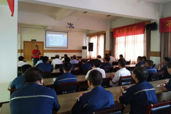 Conduct safety training for employees.